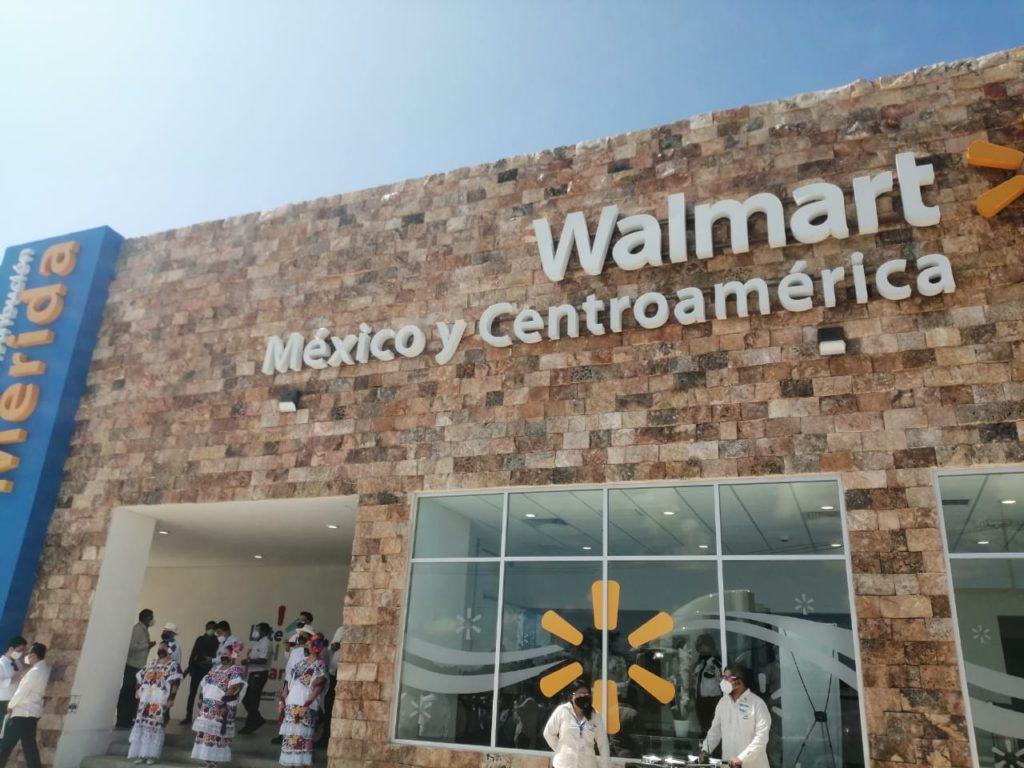 Inauguran CEDIS de Walmart en Mérida