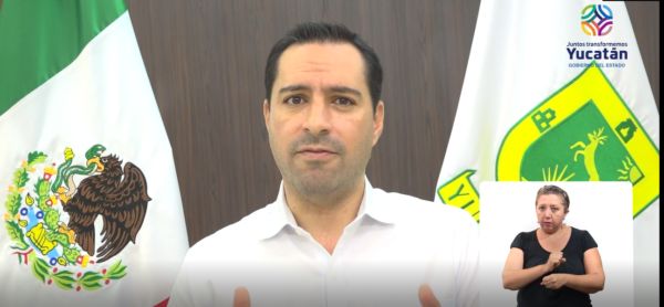 El Gobernador Mauricio Vila Dosal llama a los yucatecos a hacer conciencia y evitar actividades sociales que generan movilidad innecesaria para evitar llegar al semáforo rojo